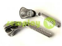 Slider Birch for tractor zipper type 5 nickel