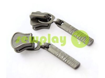 Slider Birch for tractor zipper type 5 black nickel sku 303