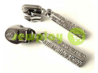 Бегунок Cork для спиральной молнии тип 5 никель