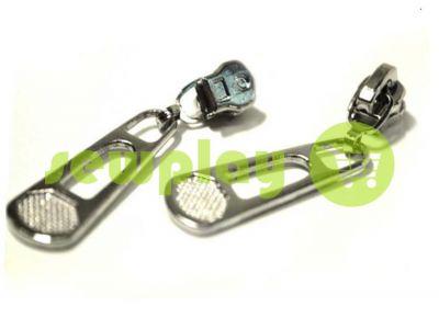 Slider BigPool for metal zipper type 3 nickel sku 317