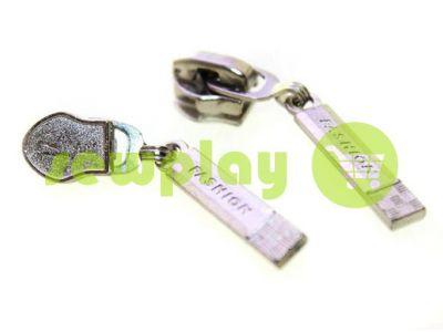 Slider Fashion for spiral zipper type 7 nickel sku 321