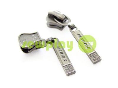 Slider Fashion for tractor zipper type 5 black nickel sku 324