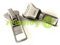 Slider SQUARE for tractor zipper type 8 nickel sku 344