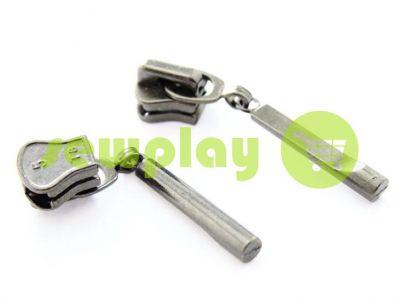 Бегунок Stick для тракторной молнии тип 5 темный никель арт 361
