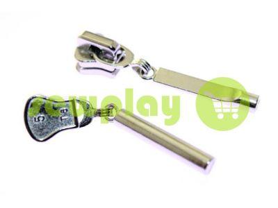 Бегунок Stick для тракторной молнии тип 5 никель арт 362