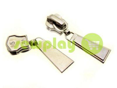 Бегунок Trap для металлической молнии тип 5 никель арт 364