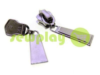 Бегунок Trap для металлической молнии тип 5 темный никель арт 365