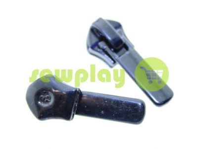 Бегунок Барышевка 22 для спиральной молнии тип 6 тип 7 тип 8 черный арт 375