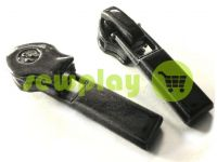 Slider Baryshevka 23 for spiral zipper type 6 type 7 black sku 376