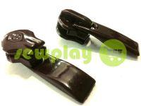 Бегунок Барышевка Волна для спиральной молнии тип 6 тип 7 черный арт 379