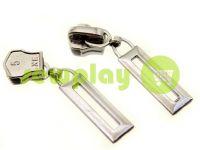 Бігунок Рамка для металевої блискавки тип 5 нікель