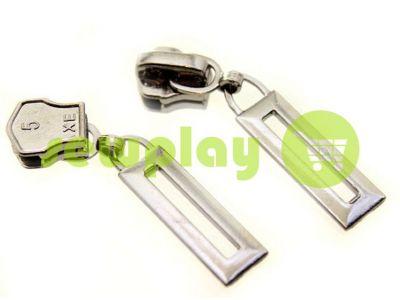 Бегунок Рамка для металлической молнии тип 5 никель арт 387