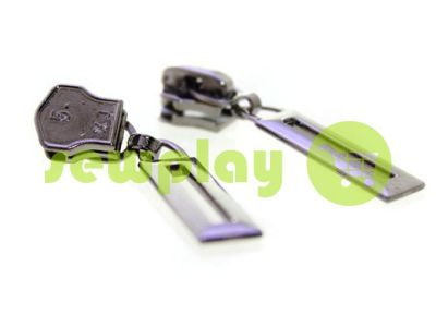 Slider Frame for metal zipper type 5 black nickel sku 388