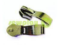 Slider shoe Wave for spiral zipper type 7 black nickel sku 405