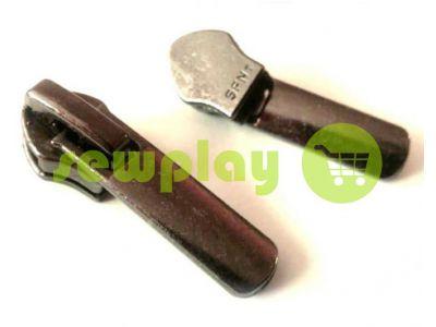 Slider shoe Directly for spiral type 7 black nickel sku 406