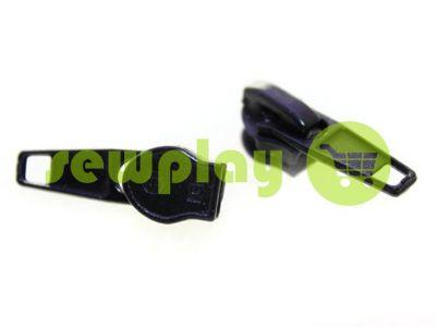 Бегунок стандартный для спиральной молнии тип 5 черный арт 433