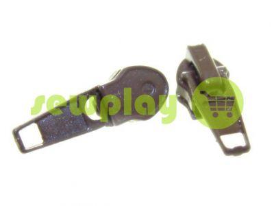 Бігунок стандартний для спіральної блискавки тип 7 коричневий