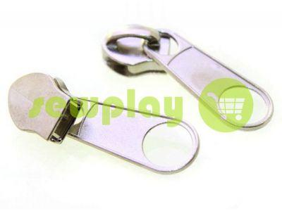 Slider bags for spiral zipper type 5 type 7 type 8 type 10 nickel  sku 437