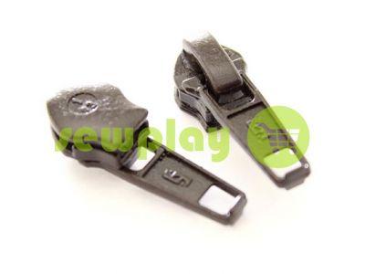 Slider Baryshevka standard for spiral zipper type 6 brown sku 440