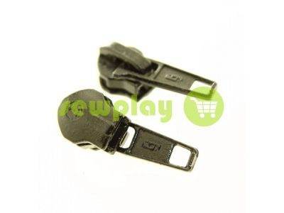 Slider Baryshevka standard for spiral zipper type 7 black sku 442