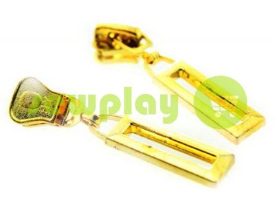 Slider Frame for tractor zipper type 5 gold sku 456