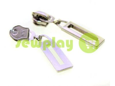 Slider Frame for spiral zipper type 5 nickel sku 457