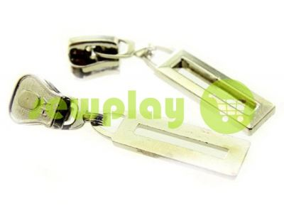 Slider Frame for tractor zipper type 5 nickel sku 468