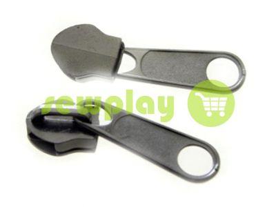 Slider bags for spiral zipper type 5 type 7 type 8 type 10 black nickel  sku 469