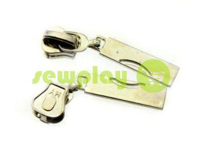 Slider Arc for tractor zipper type 5 nickel sku 475