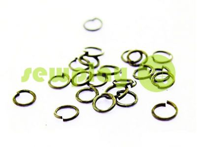 Ring jewelry 5mm Dark Nickel sku 485