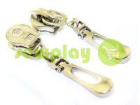 Slider Drop for spiral zipper type 5 nickel sku 502