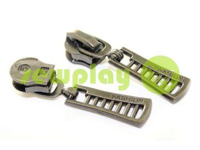 Бегунок FashionZTD для спиральной молнии тип 5 темный никель арт 518