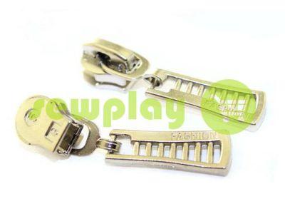 Бігунок FashionZTD для спіральної блискавки тип 5 нікель арт 521