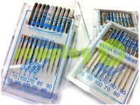 Needles Assorted AKRA 130 / 705H (extra sortiment) for household sewing machines