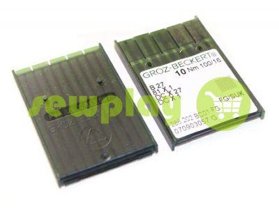 Needles industrial Groz-Beckert B27/SES for overlock knitwear sku 547