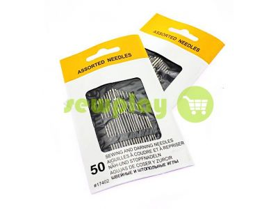 A set of hand sewing needles number 17402 50 needles sku 570
