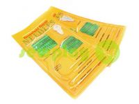 A set of hand needles curved needle 27 needles sku 571