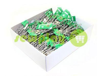 Set pin British one size Nickel 12 pcs sku 574