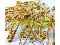 Set pin British one size Gold 12 pieces