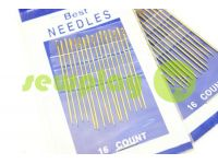 A set of professional hand needles Best 1/5-120002 16 needles sku 579