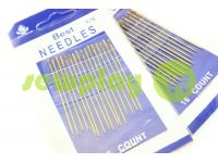 A set of professional hand needles Best 1/5-120002 16 needles
