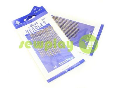 A set of professional hand needles Best 3/9-120023 16 needles sku 582