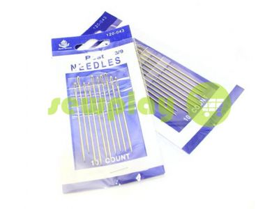 A set of professional hand needles Best 3/9-120043 10 needles sku 584