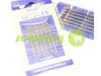 A set of professional hand needles Best 22-120054, 6 blunt needles sku 588