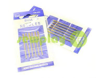 A set of professional hand needles Best 22-120054, 6 blunt needles sku 588