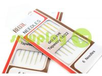 A set of professional hand needles REGAL Gold-EYE 18/22-300T1 6 needles sku 591