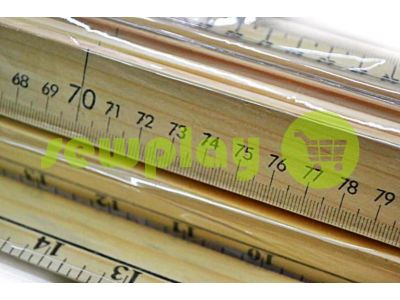Meter wooden double-sided sku 606