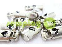 Fixator for cord d = 8mm plastic single hole 15mm * 30mm nickel, 10 pcs sku 629