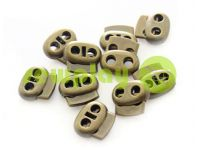 Fixator for cord d = 6 mm elips two-hole 21mm * 24mm antique, 10 pcs sku 641