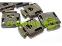 Fixator for cord d = 8mm sewing under the braid 8mm 22mm * 28mm olive, 10 pcs sku 651